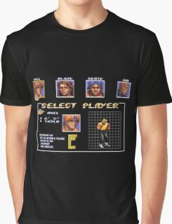 Streets of Rage 3 – Select Axel Graphic T-Shirt