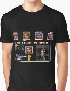 Streets of Rage 3 – Select Blaze Graphic T-Shirt