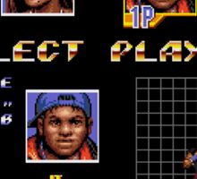 Streets of Rage 3 – Select Skate Sticker