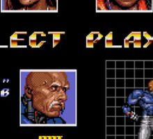 Streets of Rage 3 – Select Zan Sticker