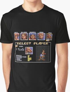 Streets of Rage 3 – Select Roo Graphic T-Shirt