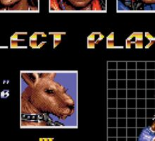 Streets of Rage 3 – Select Roo Sticker