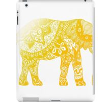 Yellow Elephant  iPad Case/Skin