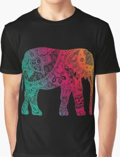 Warm Elephant Graphic T-Shirt