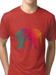 Warm Elephant Tri-blend T-Shirt