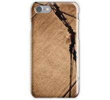 The Shadow of the Metal Giraffe  iPhone Case/Skin