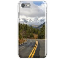 Road through Rocky Mountain National Park iPhone Case/Skin