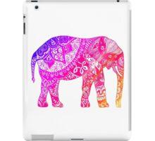 Pink and Orange Elephant iPad Case/Skin