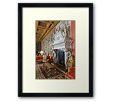 The Saloon at Longleat House, Wiltshire, United Kingdom. Framed Print