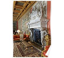 The Saloon at Longleat House, Wiltshire, United Kingdom. Poster