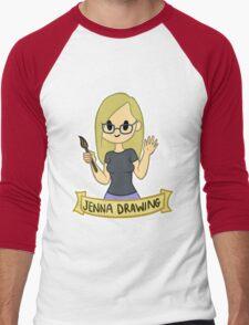 Jenna Drawing Men's Baseball ¾ T-Shirt