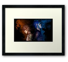 time Framed Print