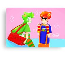 Trickster Dirk and Jake Canvas Print