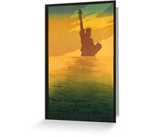 Statue of Liberty (Reproduction) Greeting Card