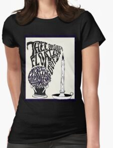 Thee oh Sees-floating coffin poster! Womens Fitted T-Shirt