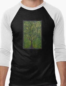 Ornate elvish tree Men's Baseball ¾ T-Shirt
