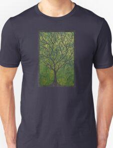 Ornate elvish tree Unisex T-Shirt