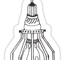 Lightbulb Hanging Cage Sticker