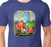 The Dragon and the Caterpillar Unisex T-Shirt