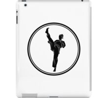 Womens Martial Arts iPad Case/Skin