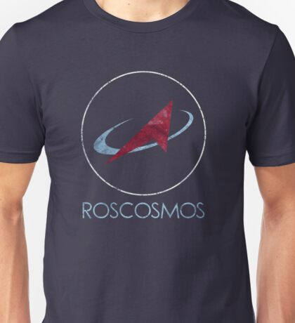 ROSCOSMOS Russian Space Agency Unisex T-Shirt