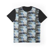 YOSEMITE Half Dome in living color Graphic T-Shirt