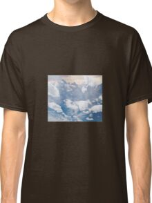 Sky and Mountain Photocollage | Collages  Classic T-Shirt