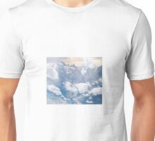 Sky and Mountain Photocollage | Collages  Unisex T-Shirt