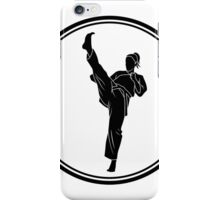 Womens Martial Arts iPhone Case/Skin