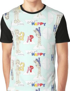 Let's Get Happy! Graphic T-Shirt