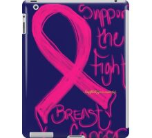 Support the Fight, Breast Cancer Awareness iPad Case/Skin