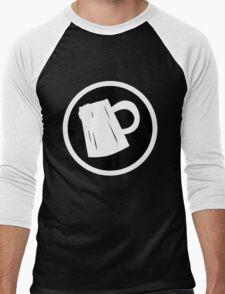 Cider Party Flat Logo Men's Baseball ¾ T-Shirt