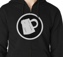 Cider Party Flat Logo Zipped Hoodie