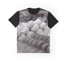 Macarons B&W Graphic T-Shirt
