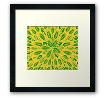 San Francisco Leaves Framed Print