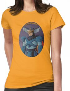Blue Knight Womens Fitted T-Shirt