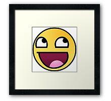 Meme Smileys Framed Print