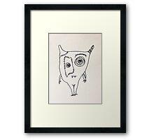 """The Mini Monster Illustrations - """"Ialtóg"""" Framed Print"""