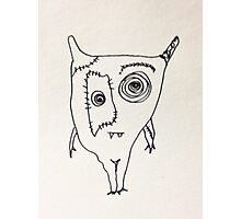 "The Mini Monster Illustrations - ""Ialtóg"" Photographic Print"
