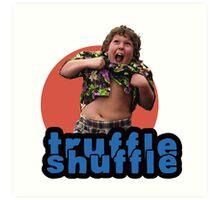 Truffle Shuffle Art Print