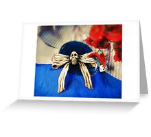 Hollow Yves Classic Dress Bow Greeting Card