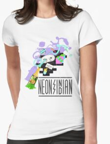 Neon Indian  Womens Fitted T-Shirt