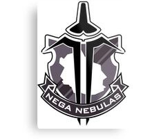 Accel World - Nega Nebulas Insignia (Black King) Metal Print