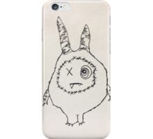 "The Mini Monster Illustrations - ""Shmoopi"" iPhone Case/Skin"