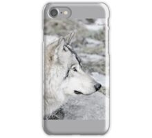 Timber Wolf Profile iPhone Case/Skin