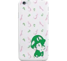Peach and Baby Luigi iPhone Case/Skin