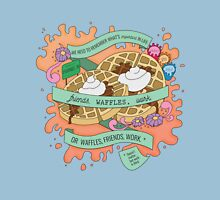 Friends, Waffles, Work. (Parks and Rec) Unisex T-Shirt