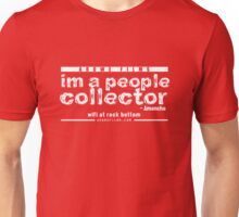 People Collector - White (WFARB) Unisex T-Shirt