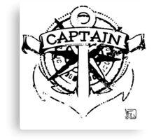 Captain 2.0 Canvas Print