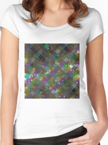Diamonds In Space Women's Fitted Scoop T-Shirt